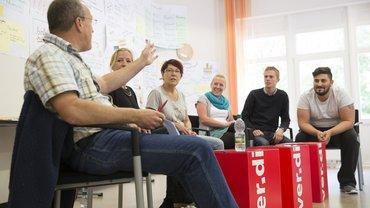 Seminar in Bielefeld Podium