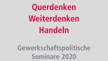 Gewerkschaftspolitisches Programm ver.di IMK 2020